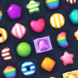 Match 3 Candies Icon Pack