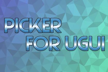 Picker for uGUI