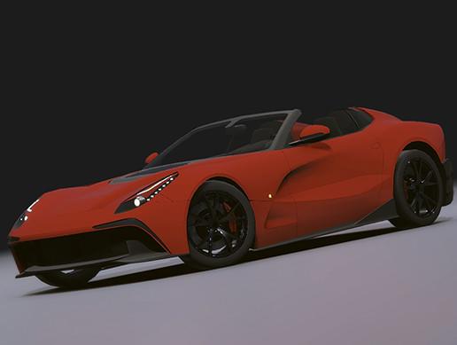 Realistic Mobile Car #09
