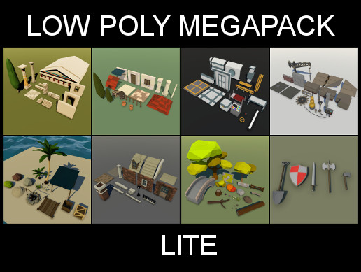 Low Poly Megapack - Lite