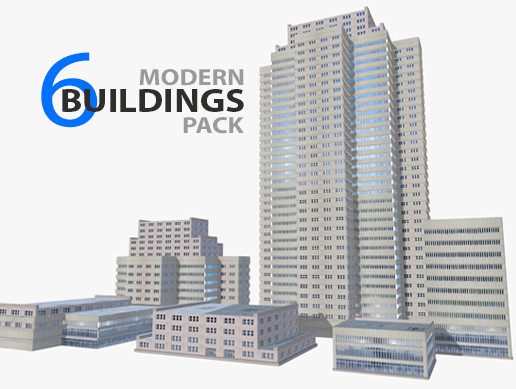 Modern buildings pack