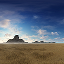 20 DESERTIC ISLAND SKYBOXES PACK