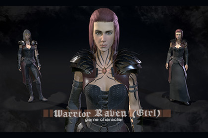 Warrior Raven (Girl)