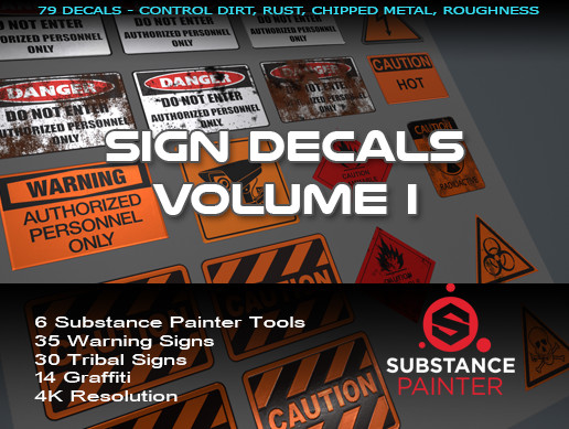 Sign Decals Volume I