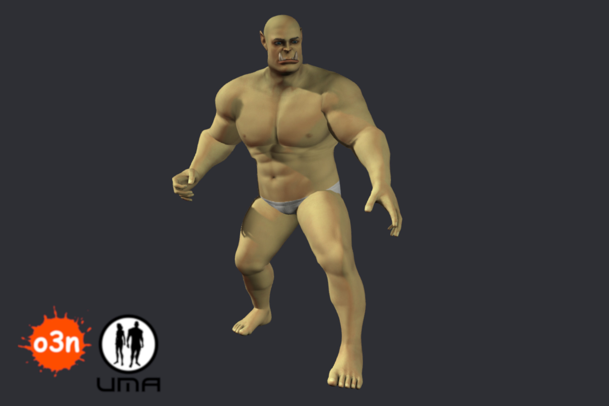 o3n Male Orc Race Variant