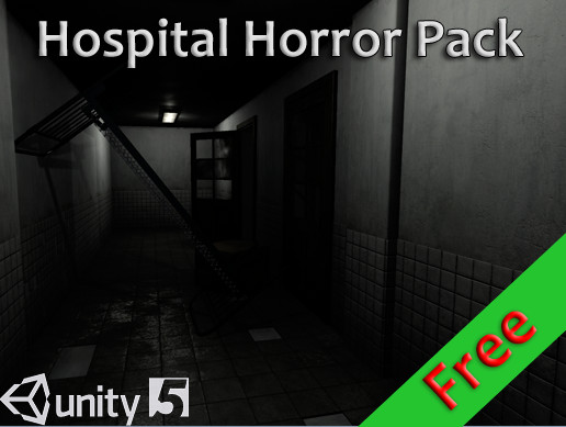 Unity 3D - PBR - Hospital Horror Pack  Free by DNK_DEV