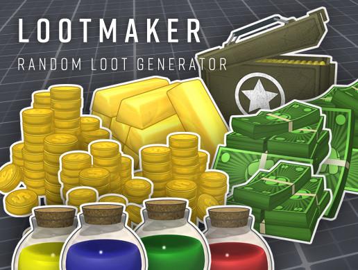 LootMaker - Random Loot Generator - Asset Store