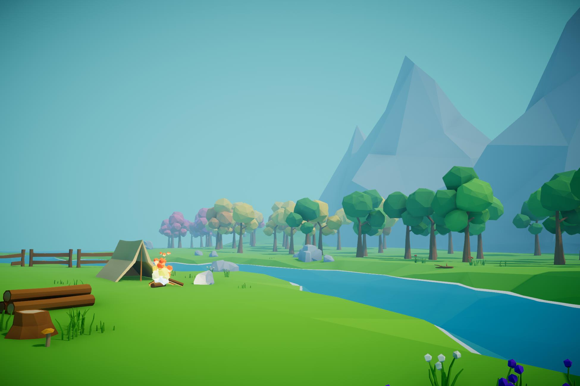 Simple Low Poly Nature Pack