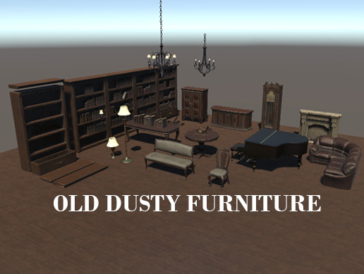 Old Dusty Furniture