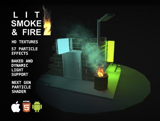 Lit Smoke And Fire 2 - Asset Store
