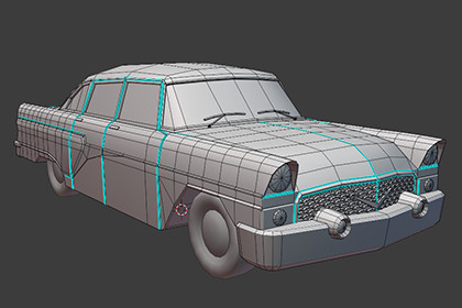 Russian Car's Model Pack