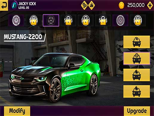 Racing Game Graphics CxS (GUI Skin 8)
