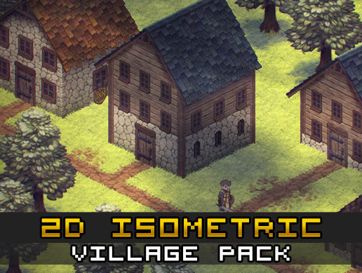 2D Isometric Village Pack