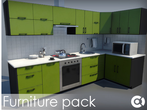 PBR Modern Furniture Pack