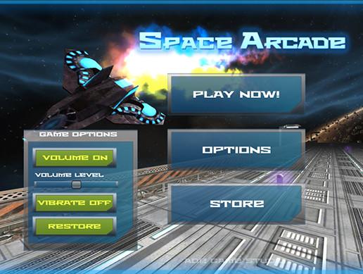 پروژه کامل یونیتی Space Arcade – Full Game