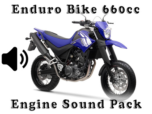Enduro Bike 660cc - Engine Sound Pack