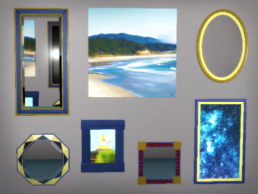 Customizable Mirrors and Frames 2