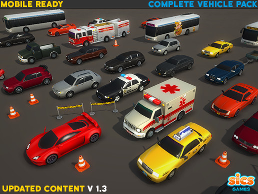 Complete Vehicle Pack