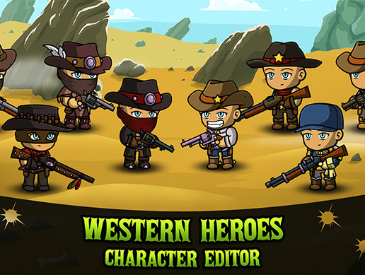 Western Heroes: Character Editor [PRO]