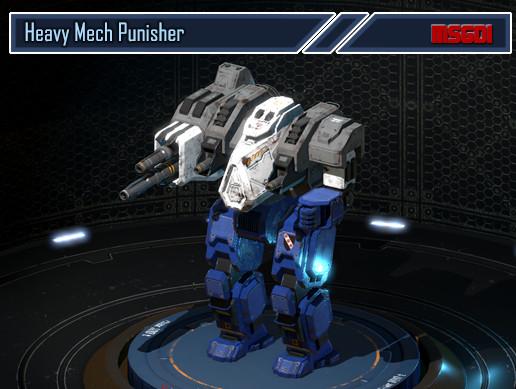 Heavy Mech Punisher - Asset Store