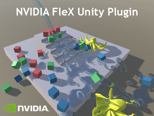 NVIDIA FleX for Unity (1.0 BETA)