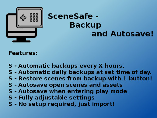 SceneSafe - Backup and AutoSaver
