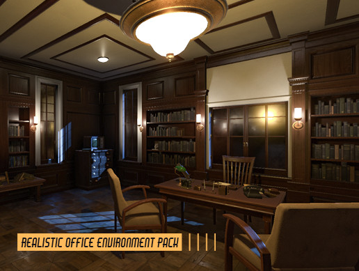 Realistic Office Environment Pack