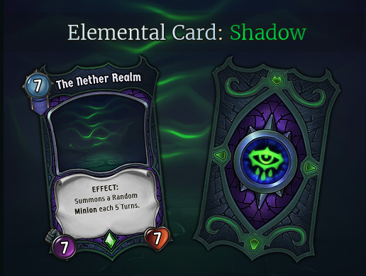 Elemental Card - Shadow