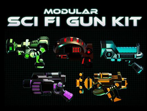 Modular Sci Fi Gun Kit