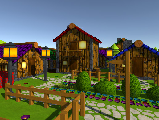 Outback Cartoon Village
