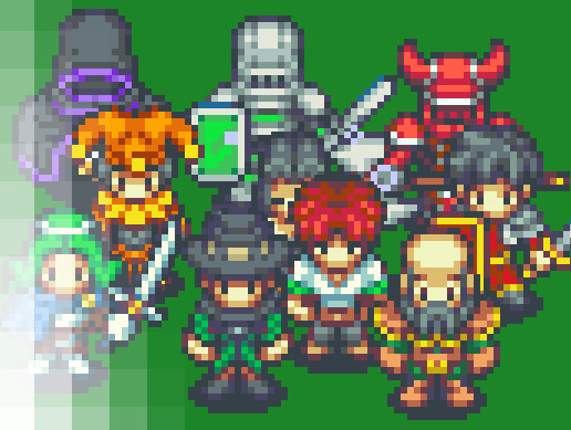 80+ RPG Pixel Characters - Asset Store