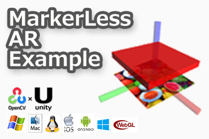 MarkerLess AR Example