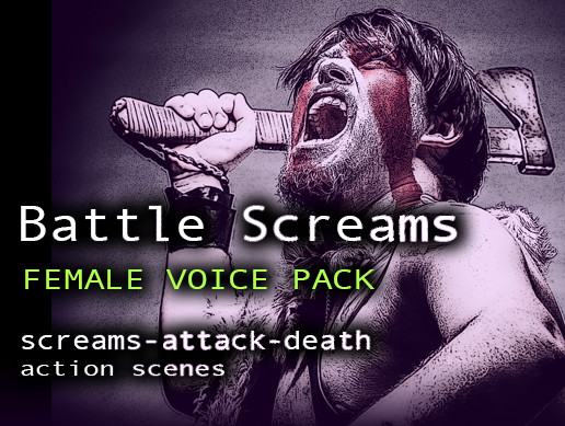 Battle Screams Female Voice Pack