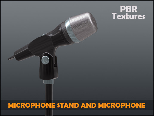 Microphone stand and Microphone