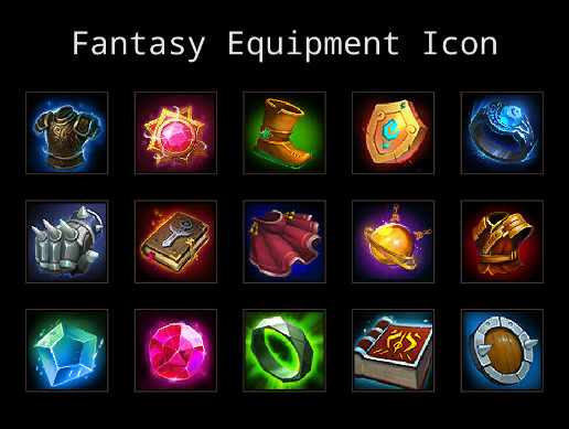 Fantasy Equipment Icon