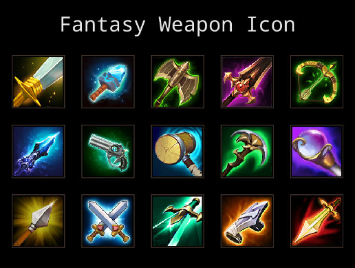 Fantasy Weapon Icon