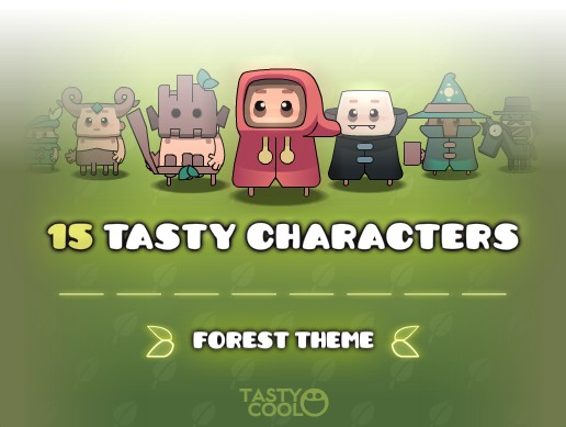 Tasty Characters - Forest Pack