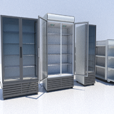 Package Shelves, Refrigerators, Freezers and Scalesed