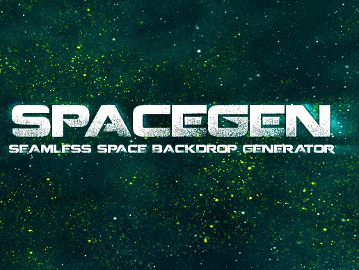 SpaceGen - Seamless Space Backdrop Generator