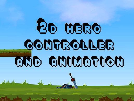 2d character with a control script and animations