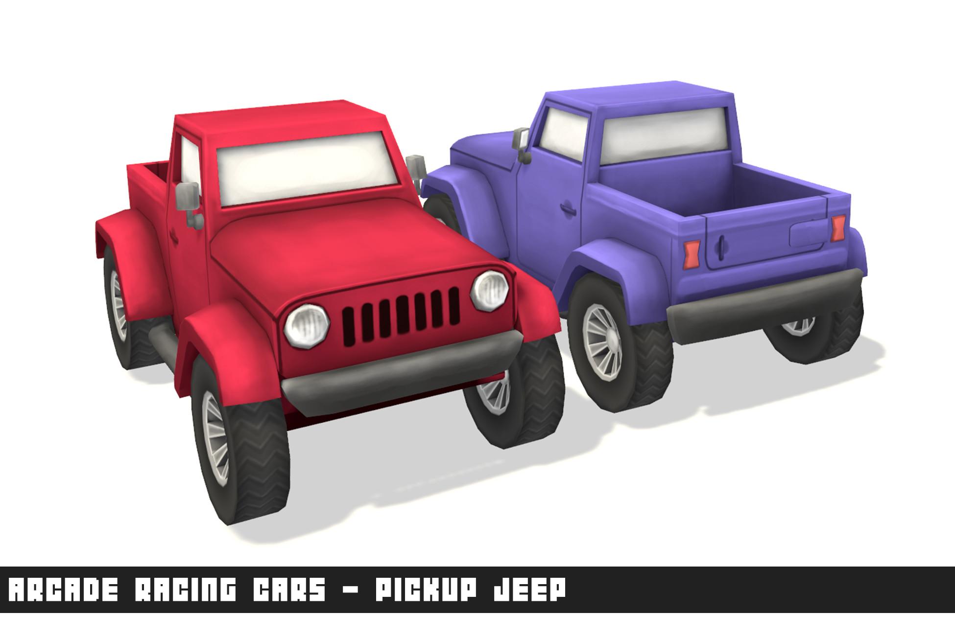 Arcade Racing Cars - Pickup Jeep