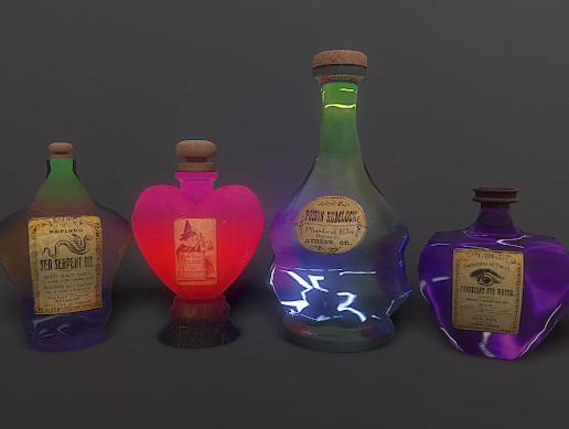 Magical Potions Pack