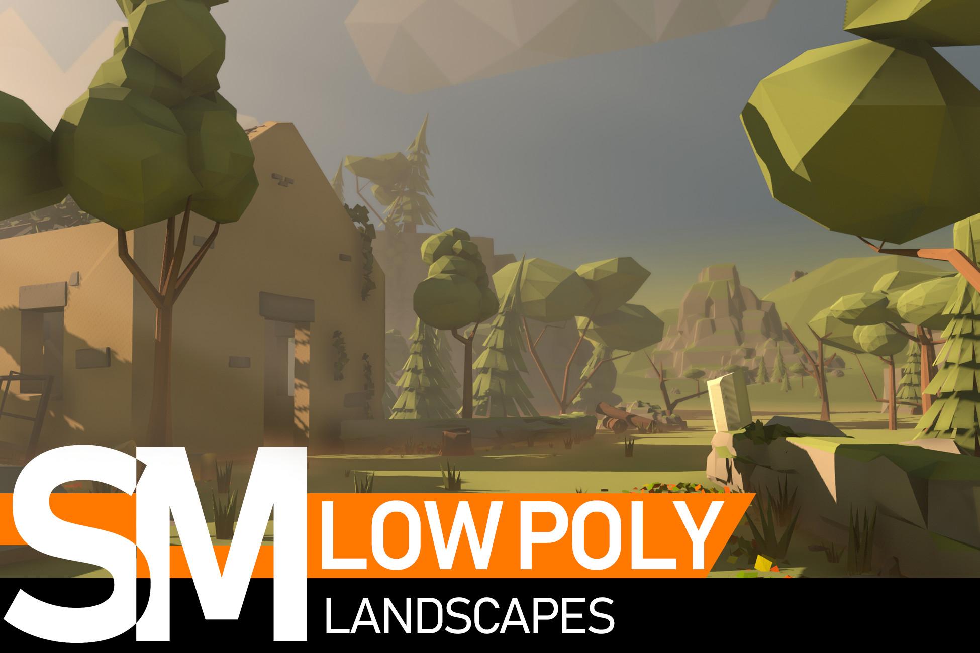 Low Poly Landscapes