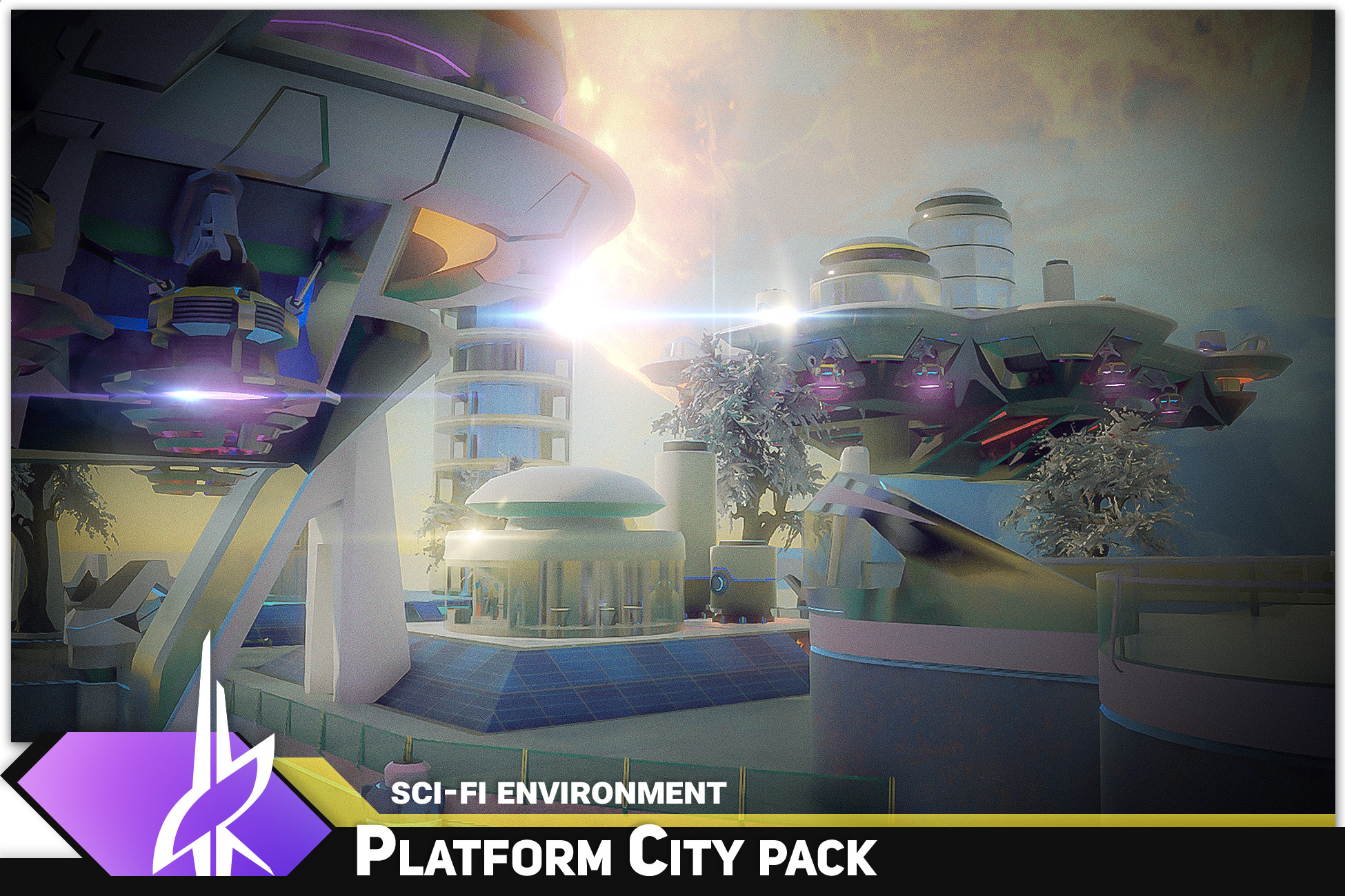 SciFi Platform City