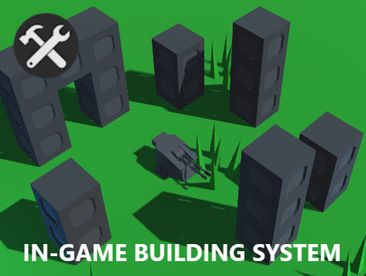 In-game building system