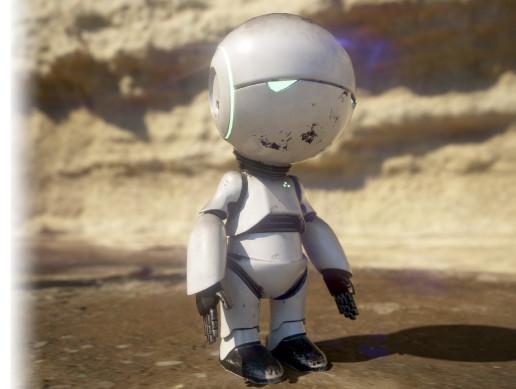 Cute Robot Marvin