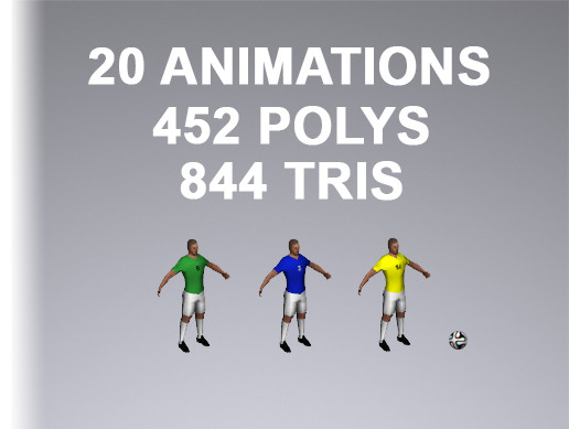 Soccer Player 844 Tris
