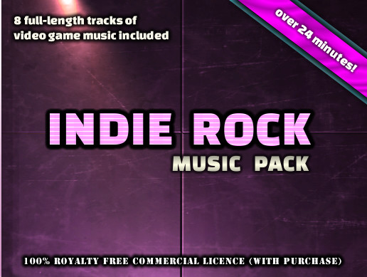 Indie Rock Music Pack by Ron Bohn
