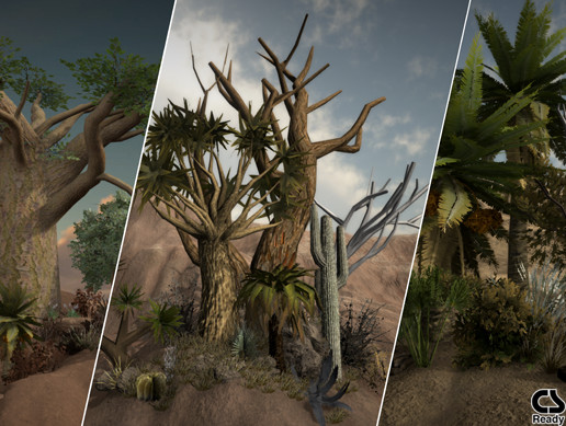 Desert Vegetation Mega Pack
