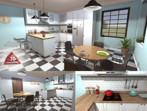 kitchen collection store kitchen collection 1 3d interior unity asset store